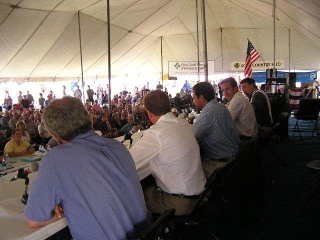 Gubernatorial forum at Farmfest, 2006