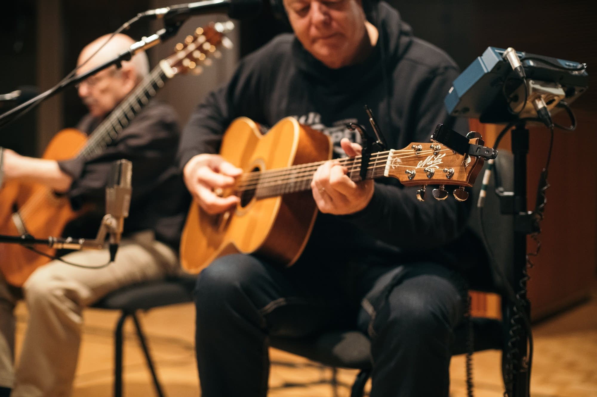 Tommy Emmanuel and John Knowles perform at The Current
