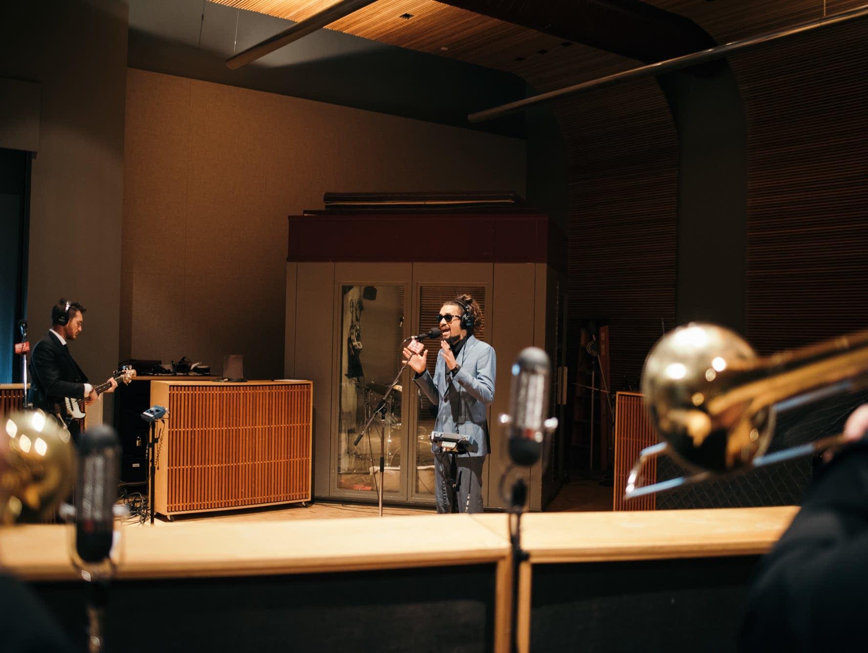 Nooky Jones perform in The Current's studio