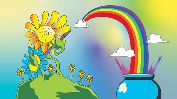 Smash Boom Best: Flowers vs Rainbows