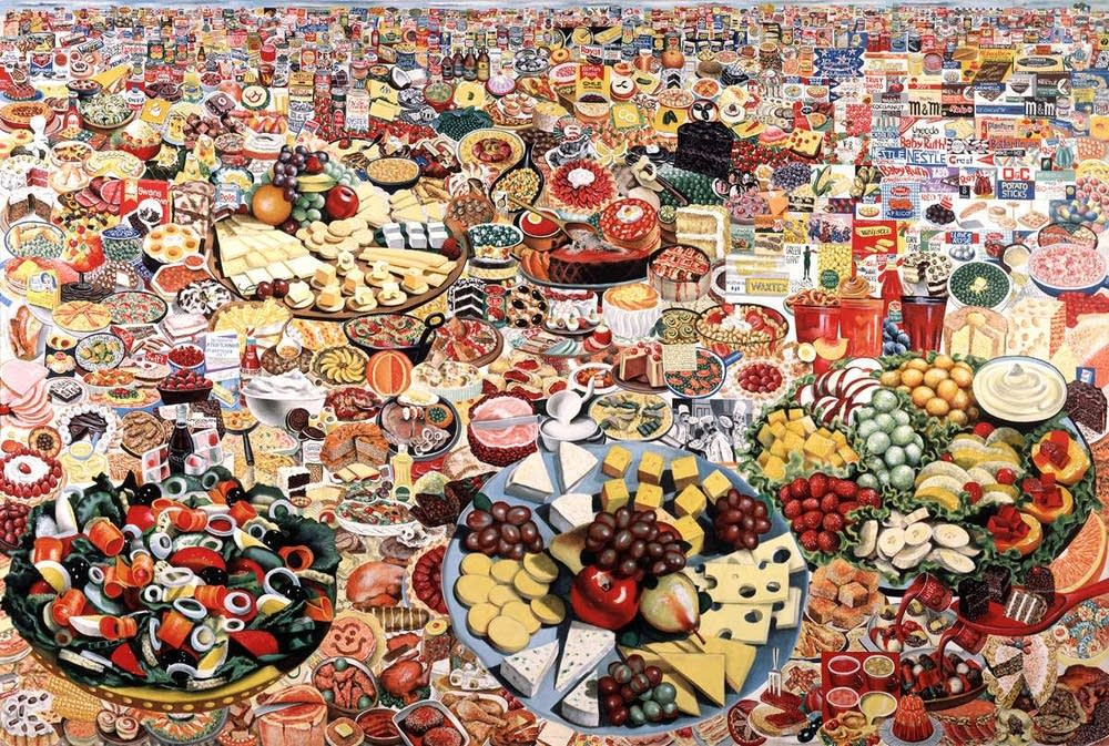 Foodscape by Erro