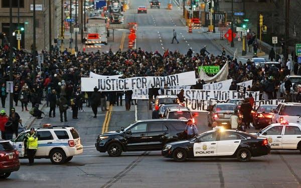 Jamar Clark protest