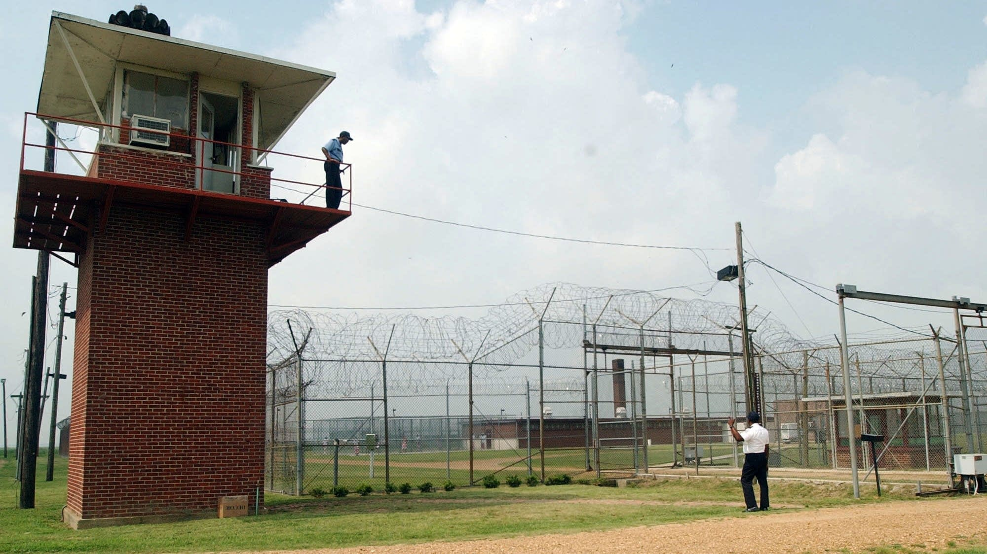Guards, Mississippi State Penitentiary in Parchman.