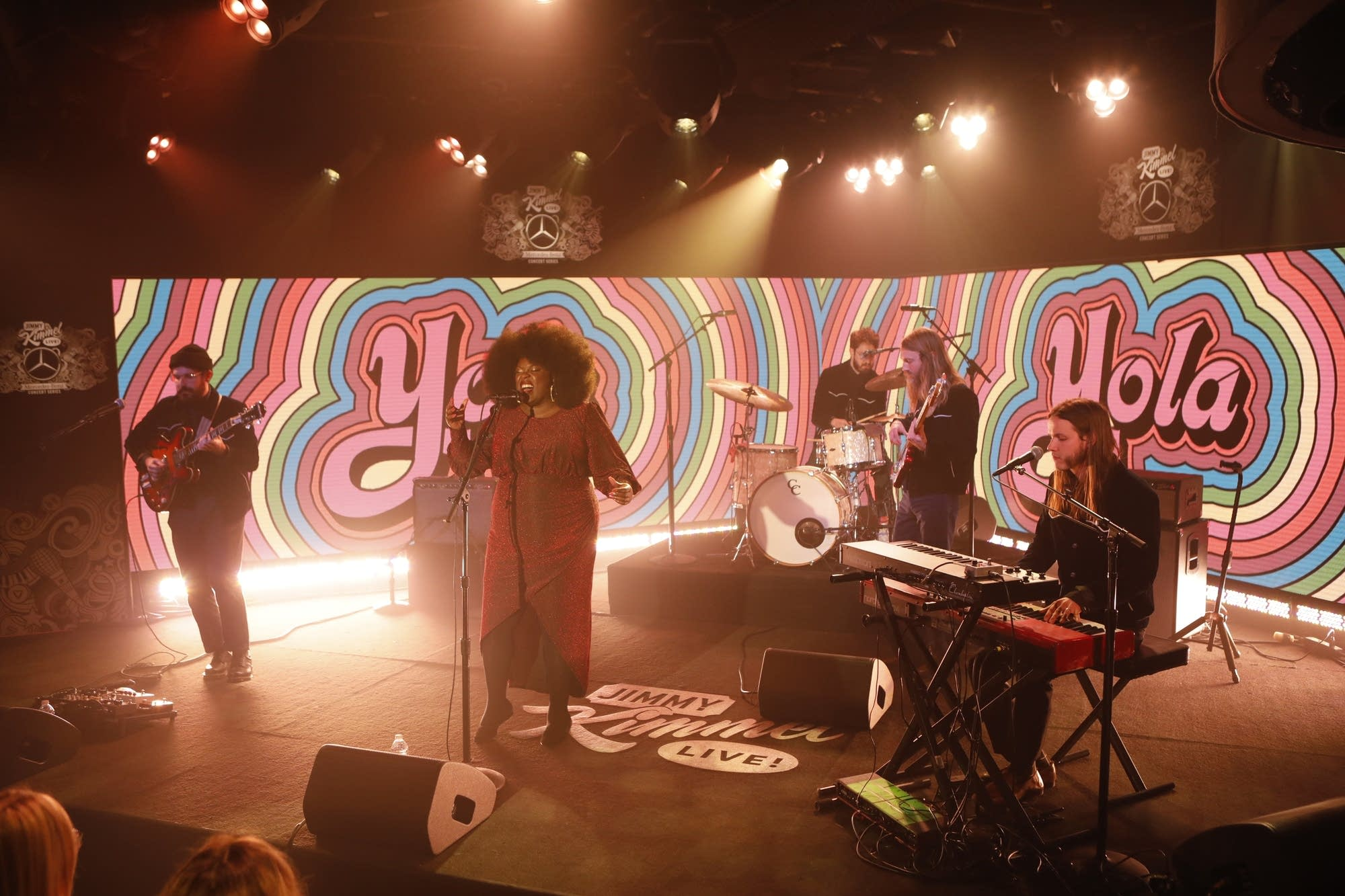 Yola performs on 'Jimmy Kimmel Live!'