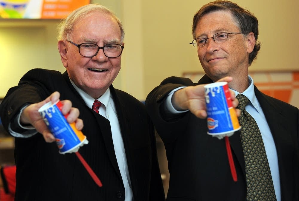 Buffett and Gates and blizzards