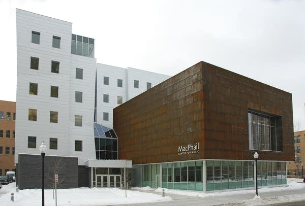 MacPhail's new building