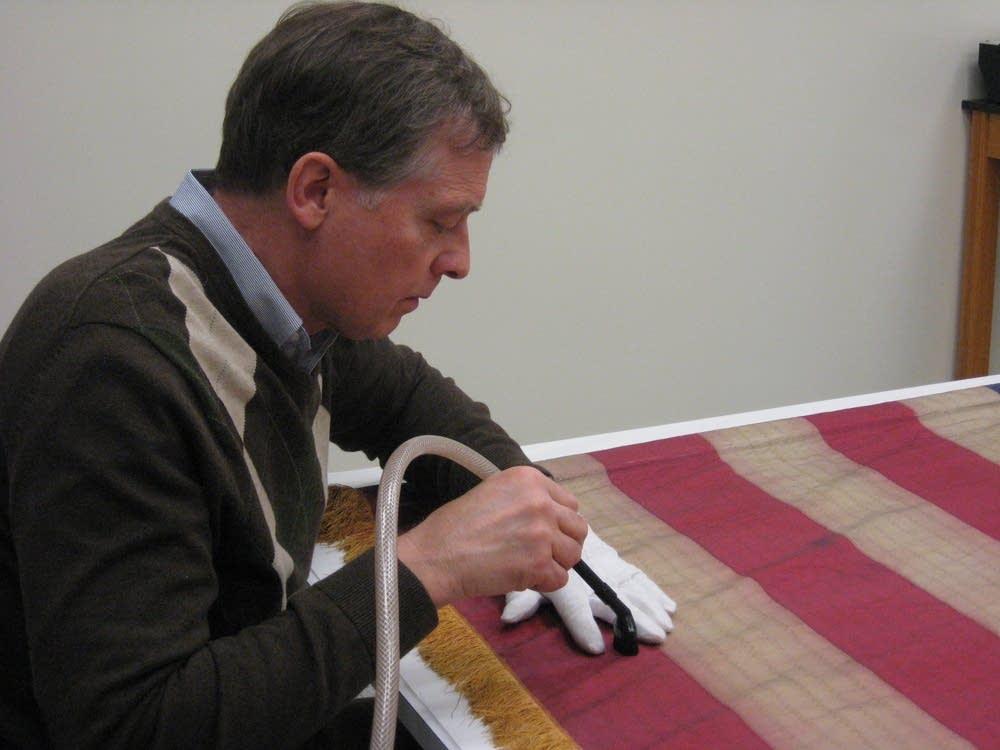 Restoring a flag