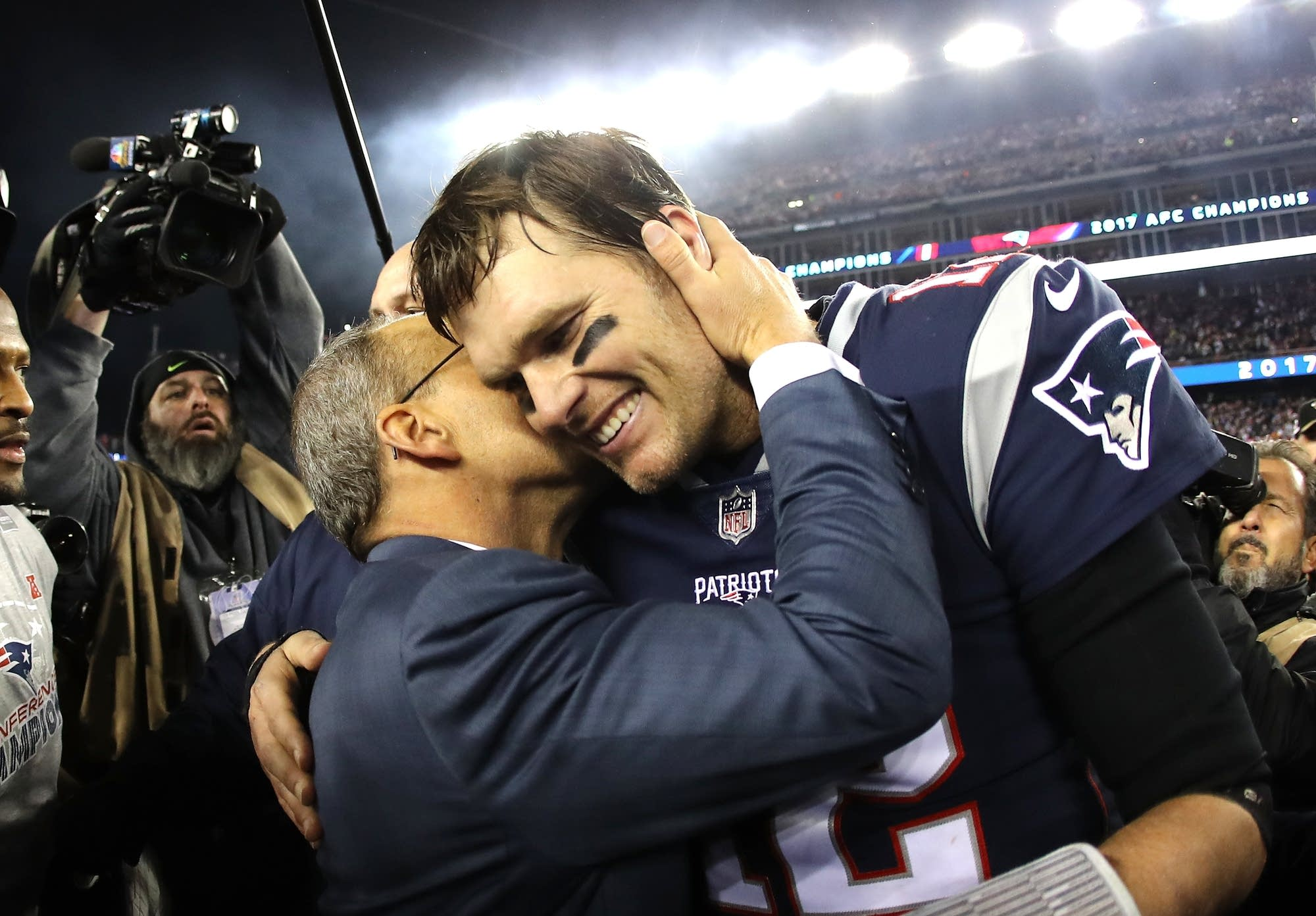 Tom Brady wins NFL's MVP for a third time