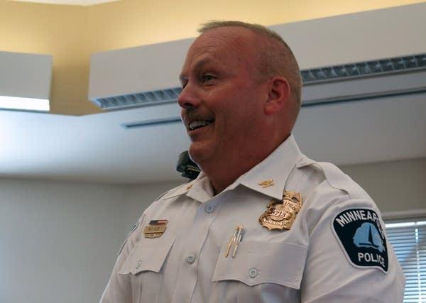 Inspector Mike Kjos