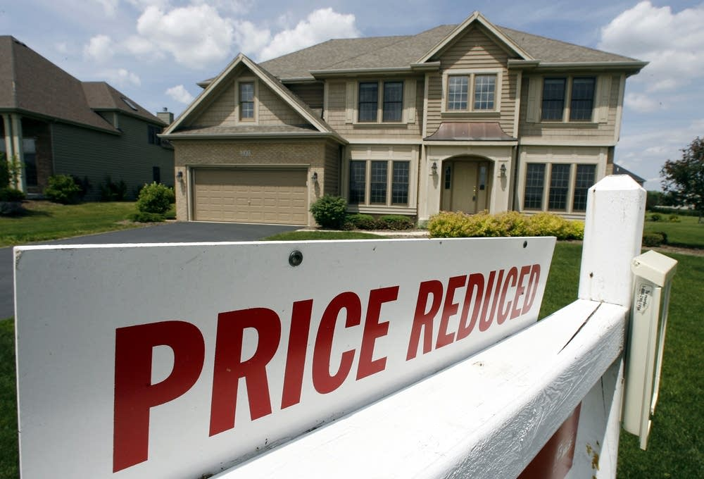 Housing prices dropping