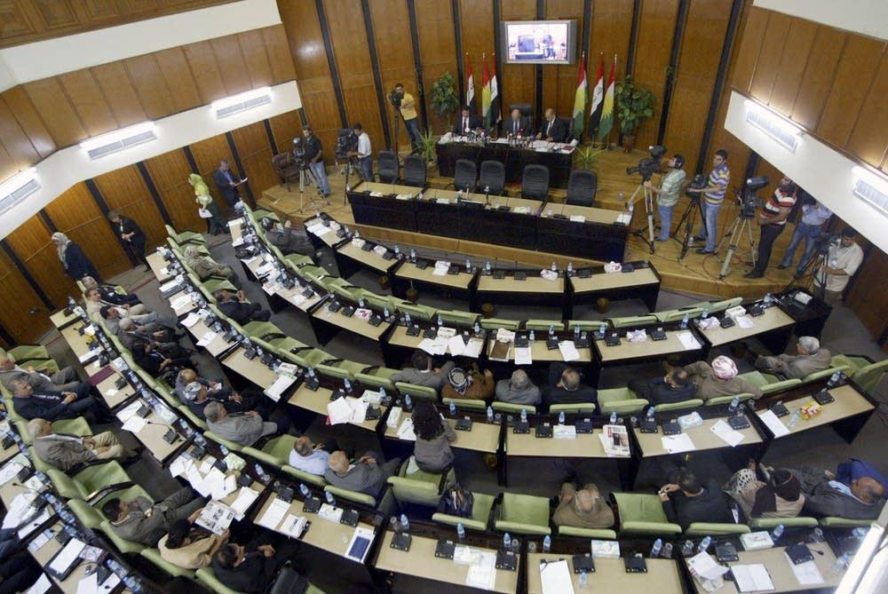 Members of the Iraqi Kurdistan Parliament