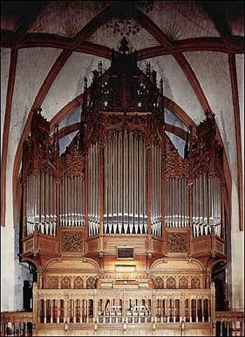 1908 Sauer organ at Saint Thomas Church in Leipzig, Germany