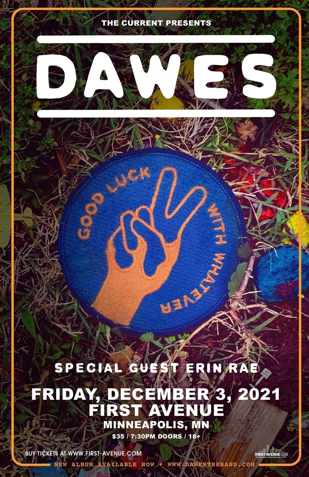 Dawes advertising graphic