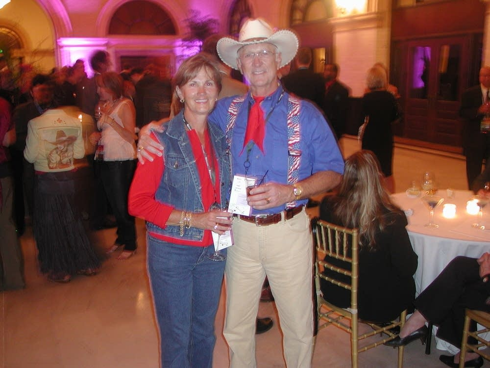 Gary Perry and his wife Lisa, from Montana