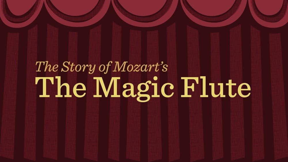 mozart magic flute animation title screen