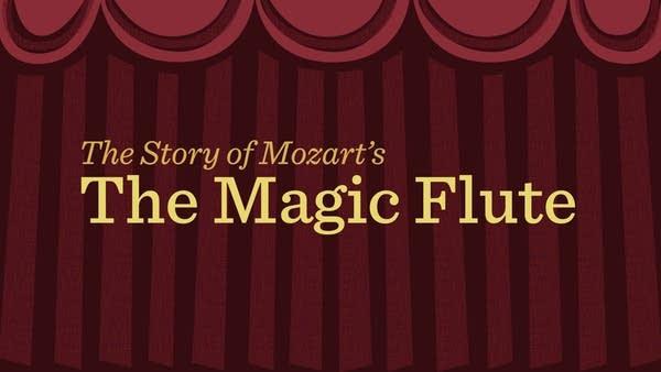 mozart magic flute animation title screen