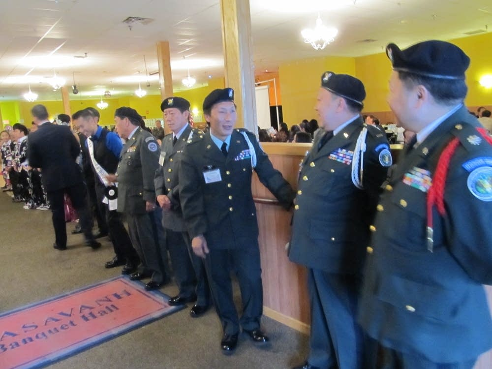 Veterans Day event for Hmong men
