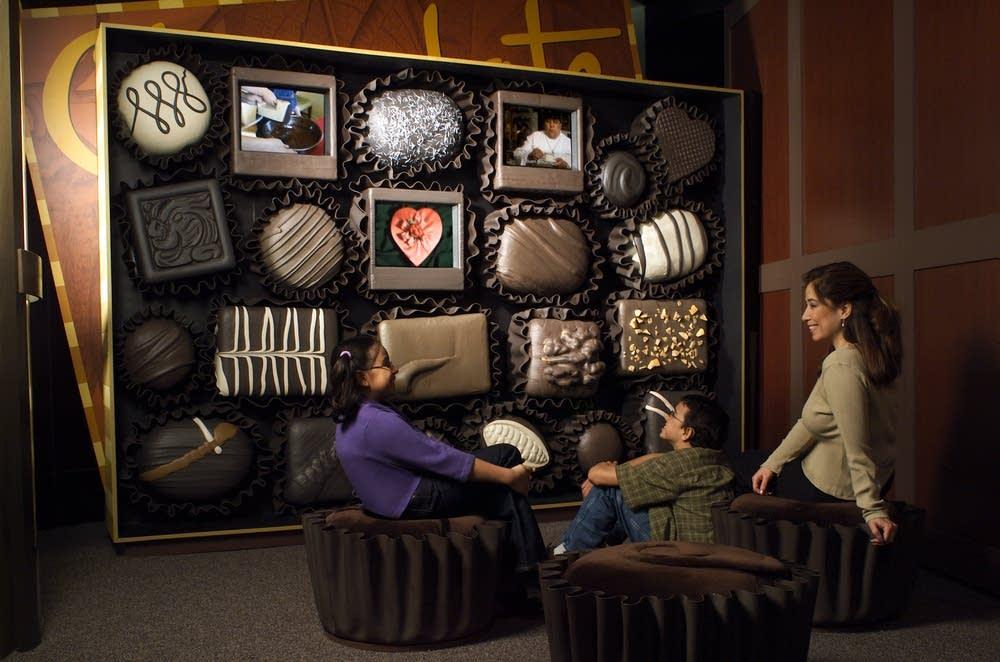 Chocolate exhibit