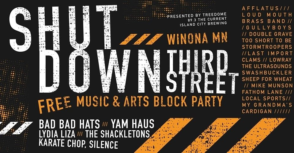 Shut Down Third Street in Winona MN