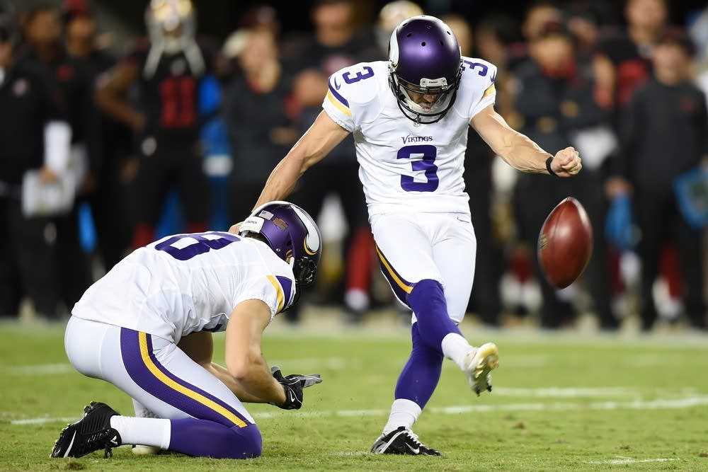 Vikings to work out several kickers after Blair Walsh's latest misses