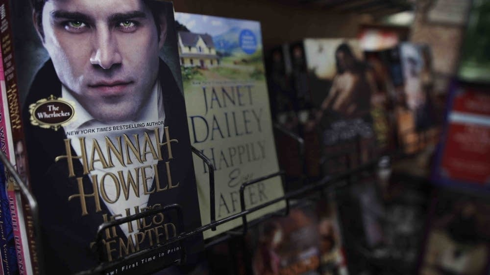 A selection of romance novels