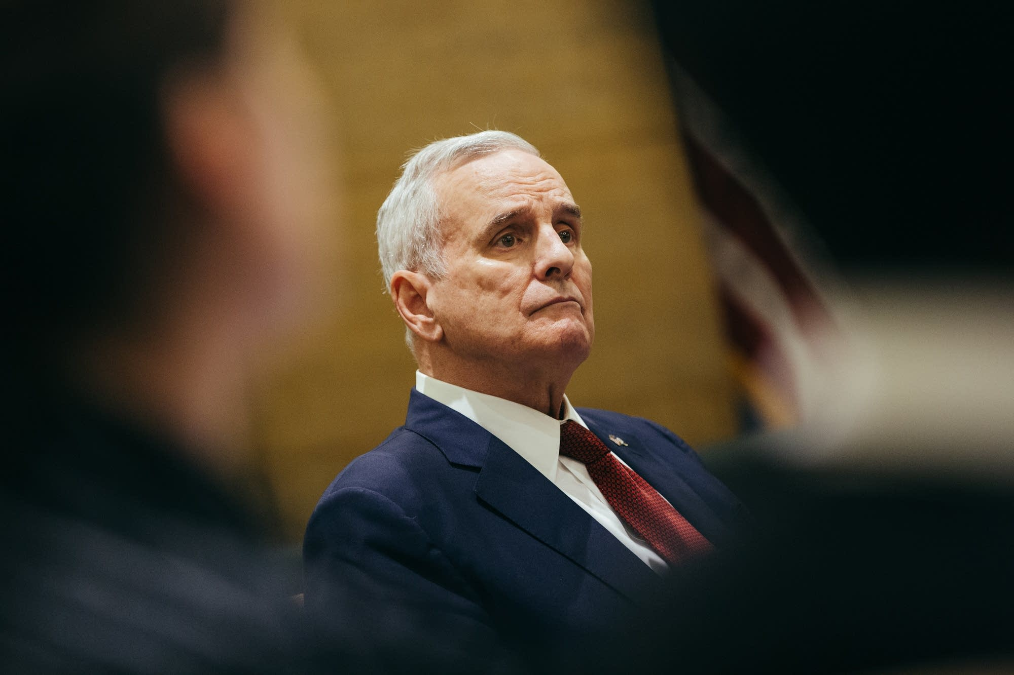 Gov. Mark Dayton told reporters today that he has prostate cancer.
