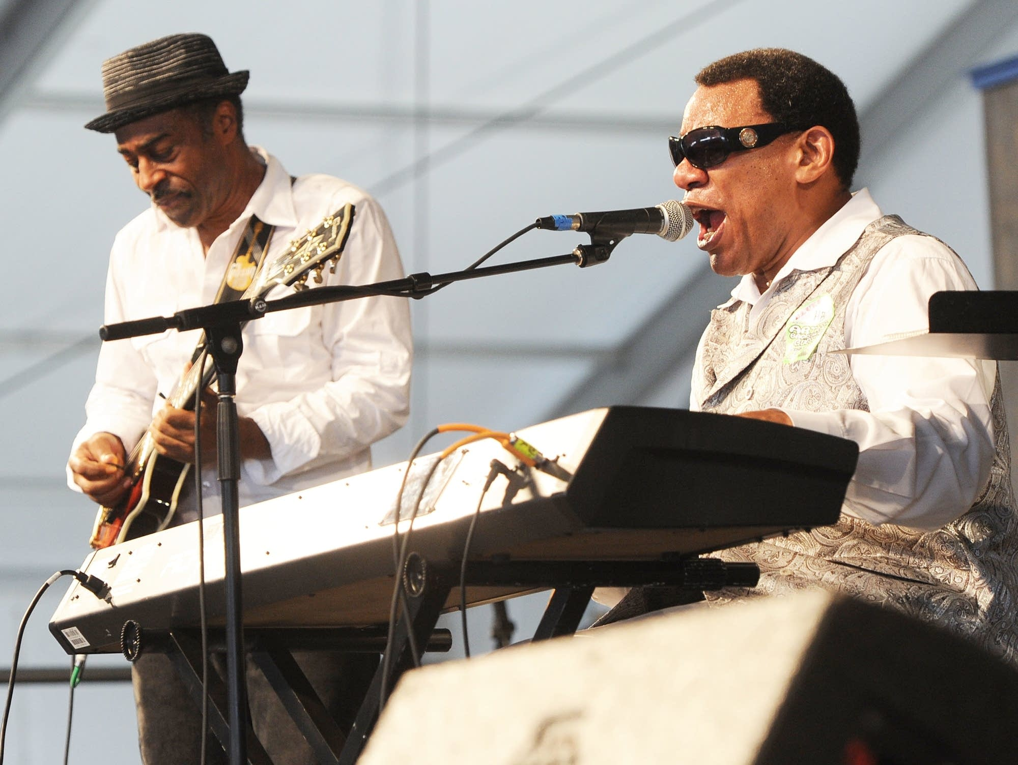 Henry Butler performs in New Orleans in 2011.