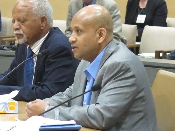 Brother of homicide victim testifes at Minnesota Board of Pardons.