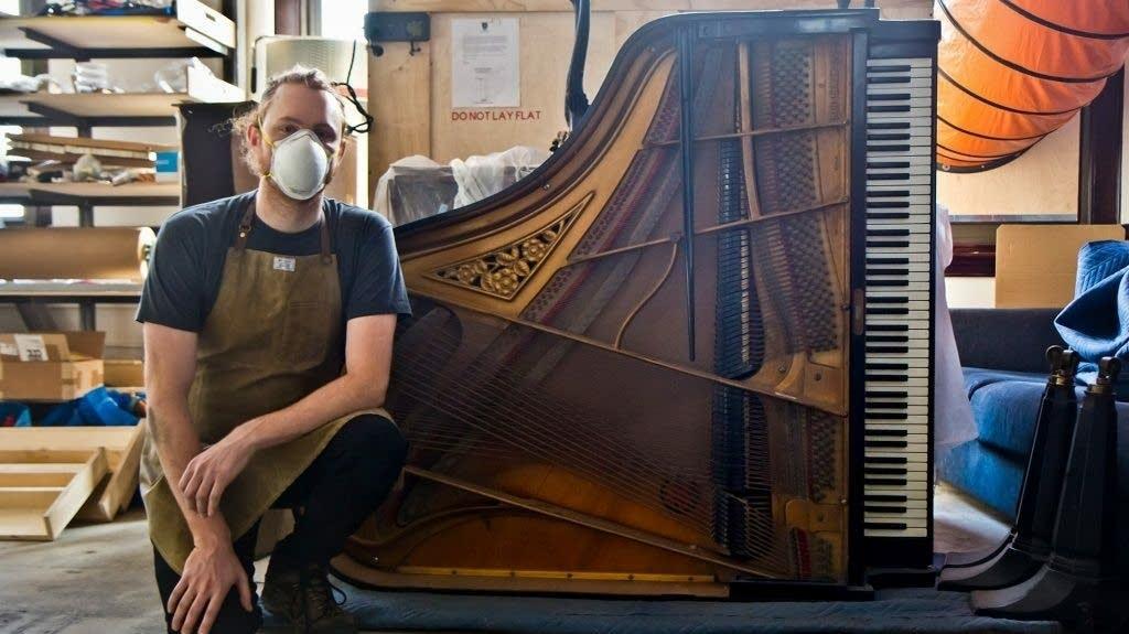 Restored piano