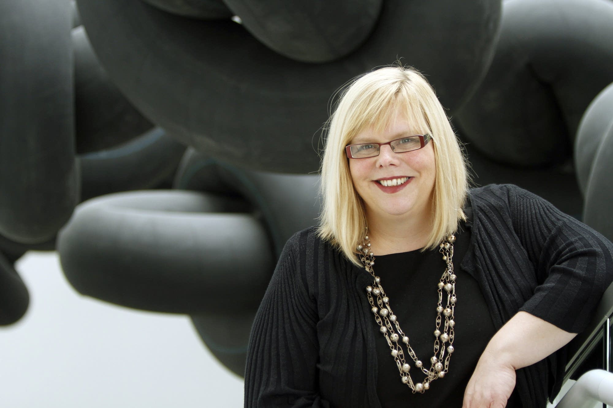 Megan Johnston, the former Rochester Art Center director