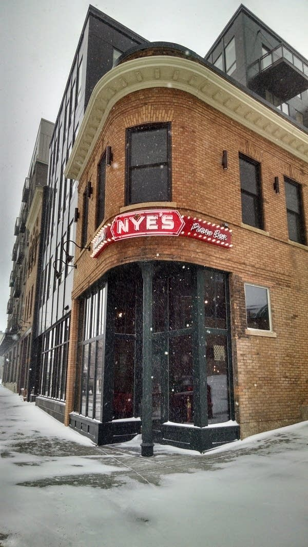 Entrance to the new Nye's bar