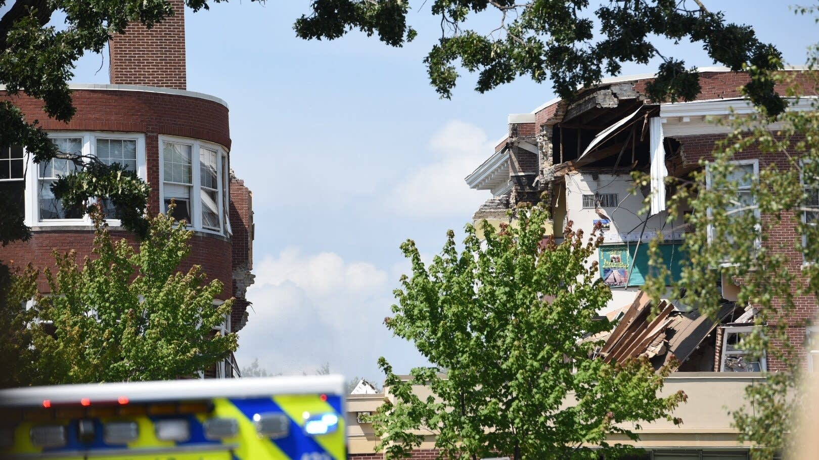 Explosion at Minnehaha Academy in Minneapolis