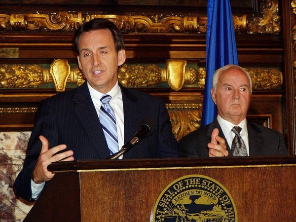 Pawlenty press conference