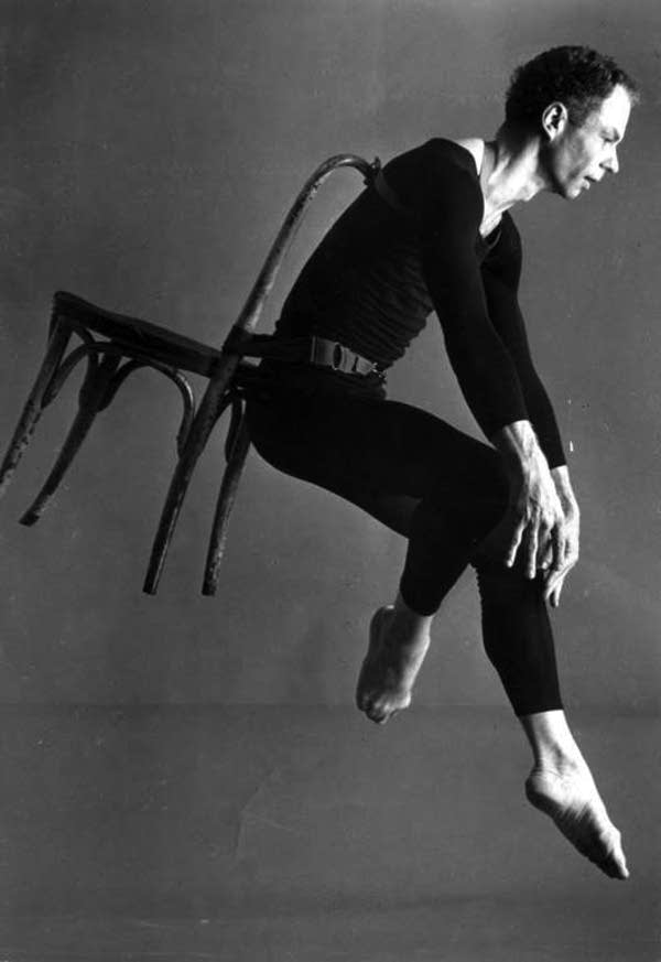 Merce Cunningham in Antic Meet
