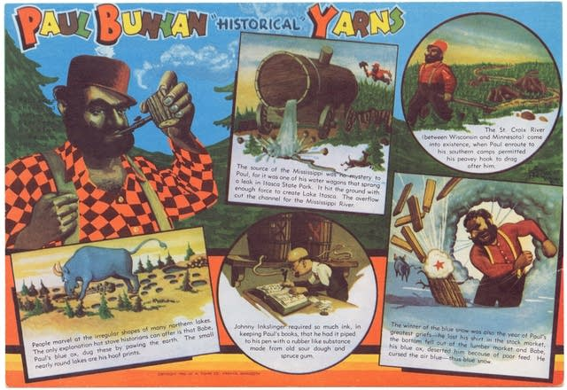 Paul Bunyan historical yarns