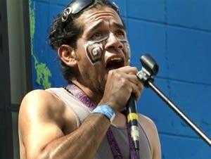 El Grito contest at Cinco de Mayo