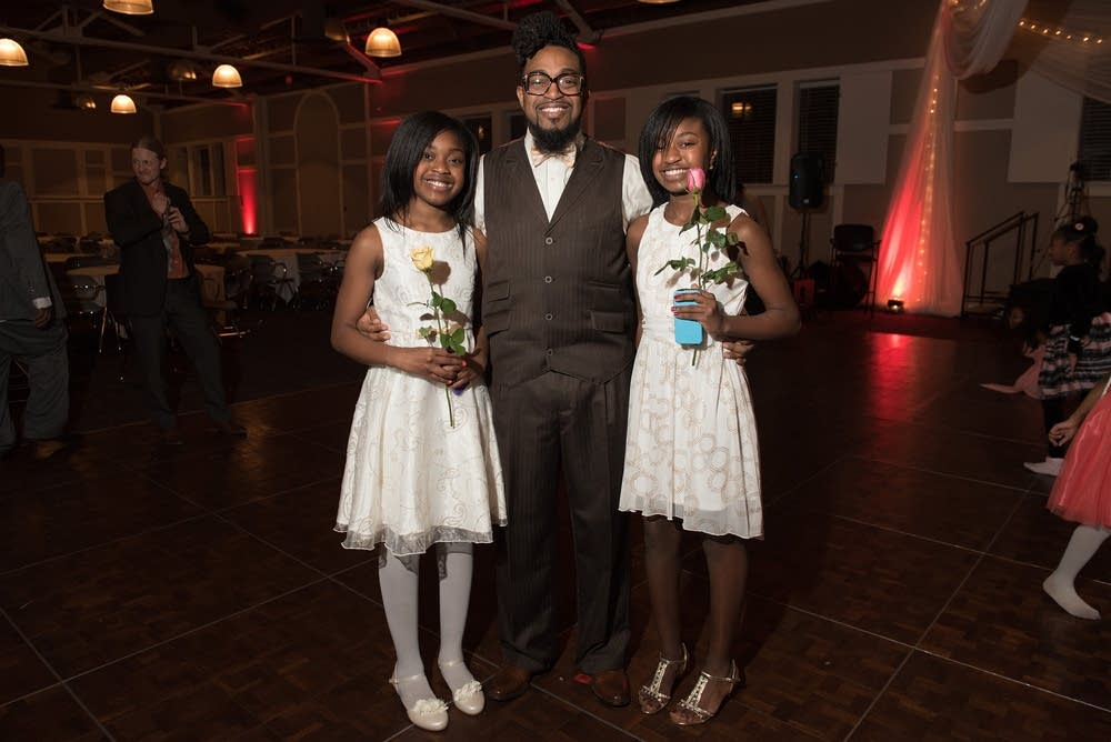 William Baker, JaYla Baker, 11, and JaShawna, 13