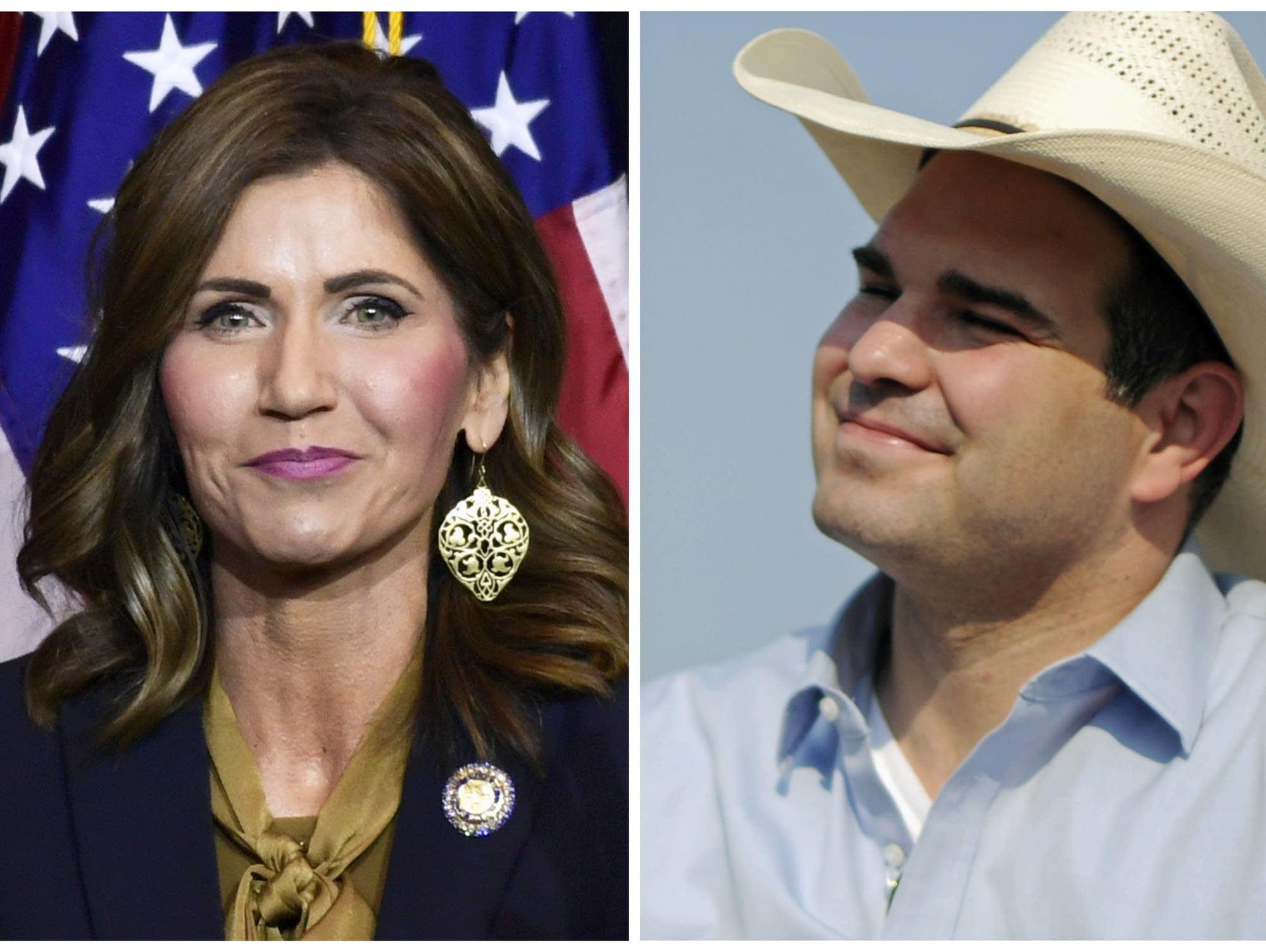 South Dakota gubernatorial candidates