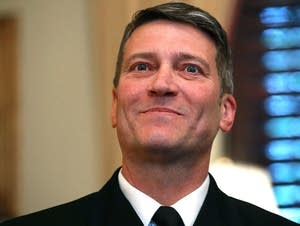 Navy Rear Adm. Ronny Jackson