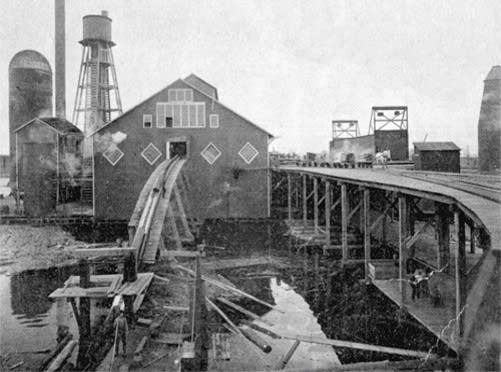 The Mitchell  McClure sawmill in West Duluth