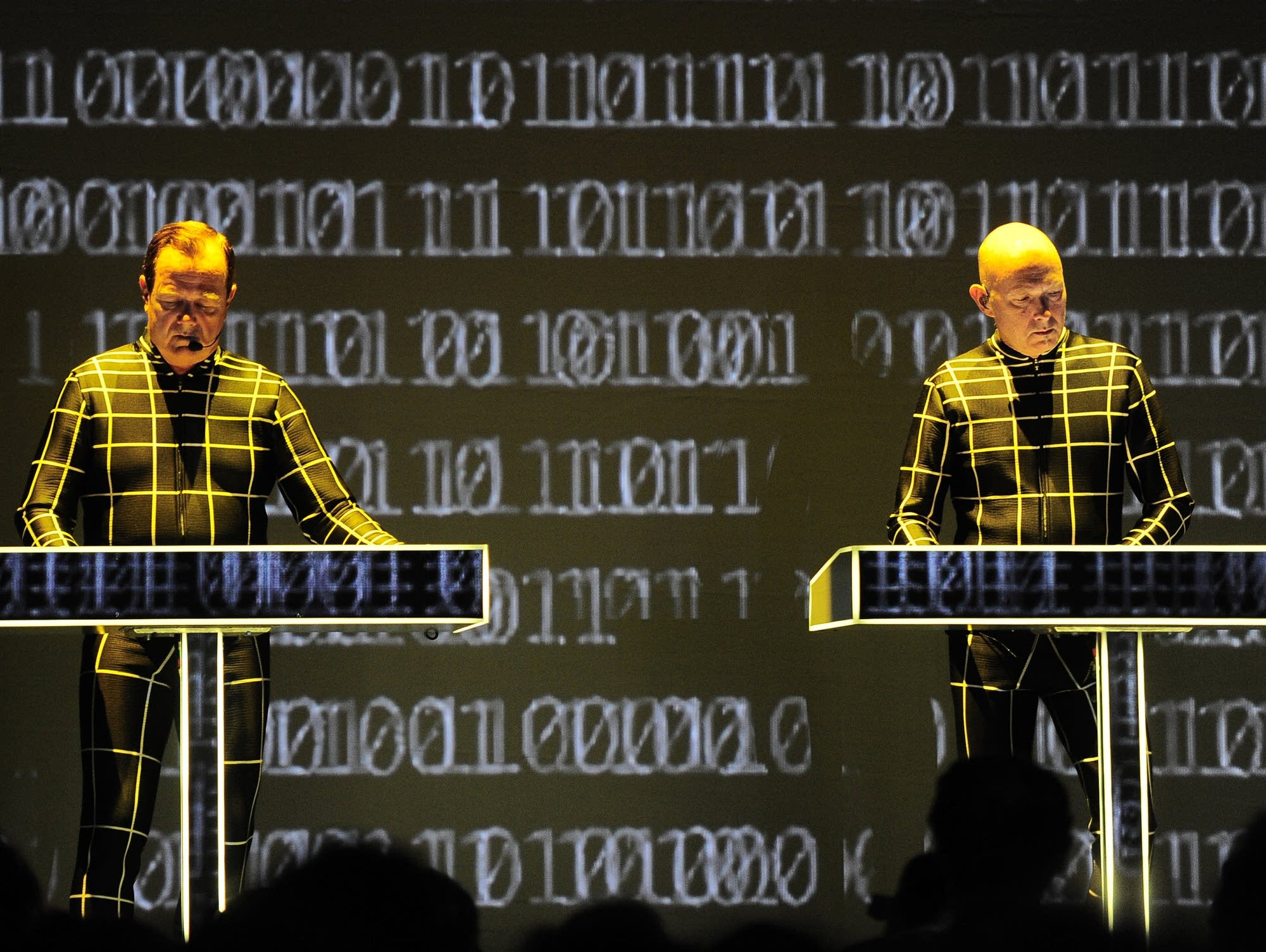 Kraftwerk perform in October 2016