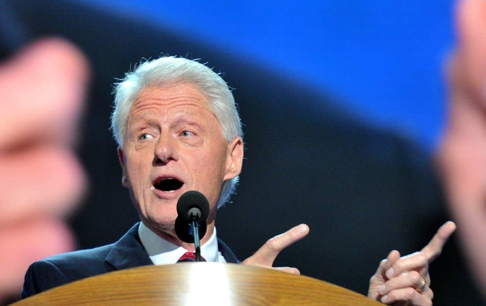 Clinton at the DNC
