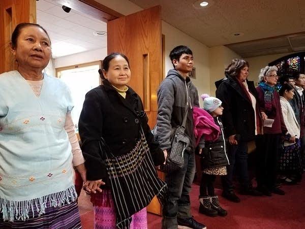 Three congregations, three languages, one church service