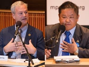 The Saint Paul mayoral candidates debate at Minnesota Public Radio.