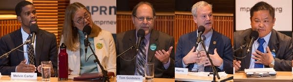 The Saint Paul mayoral candidates debate at Minnesota Public Radio.