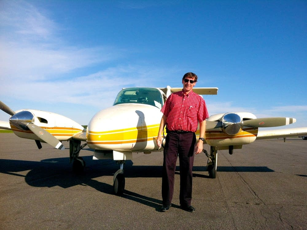 Aviation instructor Jeff Johnson