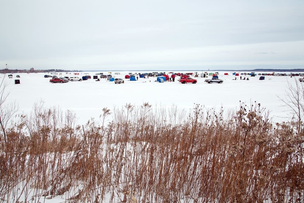 The field of the Hardwater Classic tournament