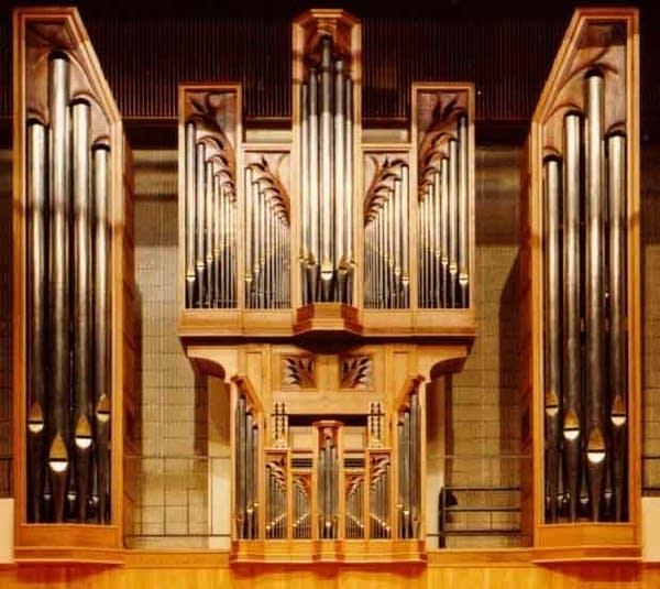 1987 Brombaugh/Tye Recital Hall, Iowa State University, Ames, IA