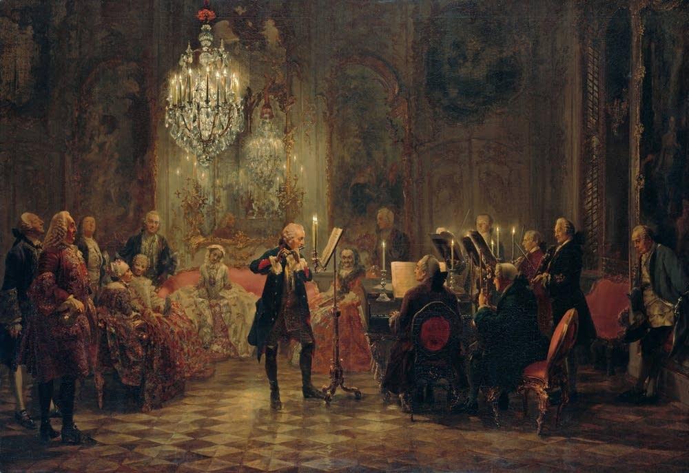 frederick great flute concerto Empfindsamkeit