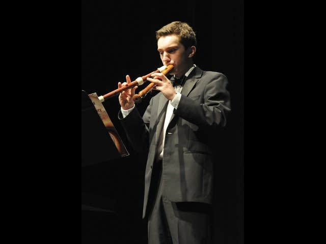 Bryan Duerfeldt performs two recorders